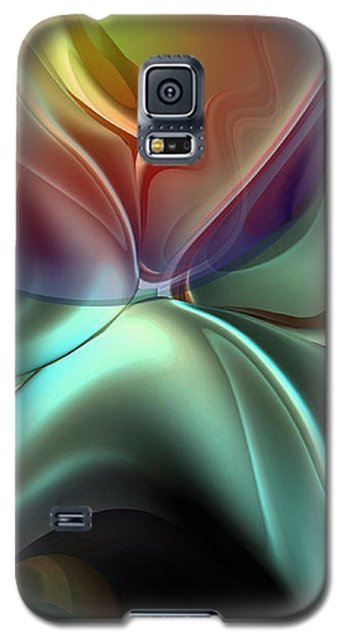 Reminiscence Galaxy S5 Case featuring the painting Baroque Music Reminiscence by Christian Simonian