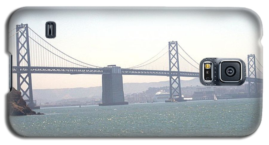 Bay Bridge Galaxy S5 Case featuring the photograph Bay Bridge by Pharris Art