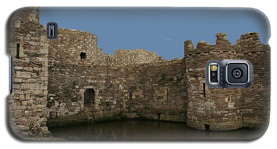 Castles Galaxy S5 Case featuring the photograph Beamaris Castle by Christopher Rowlands