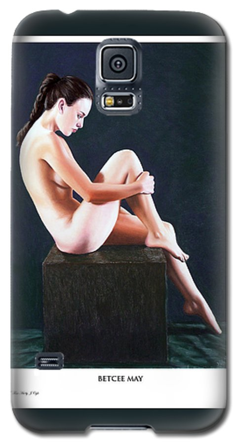 Joseph Ogle Galaxy S5 Case featuring the painting Betcee May Prints Only by Joseph Ogle