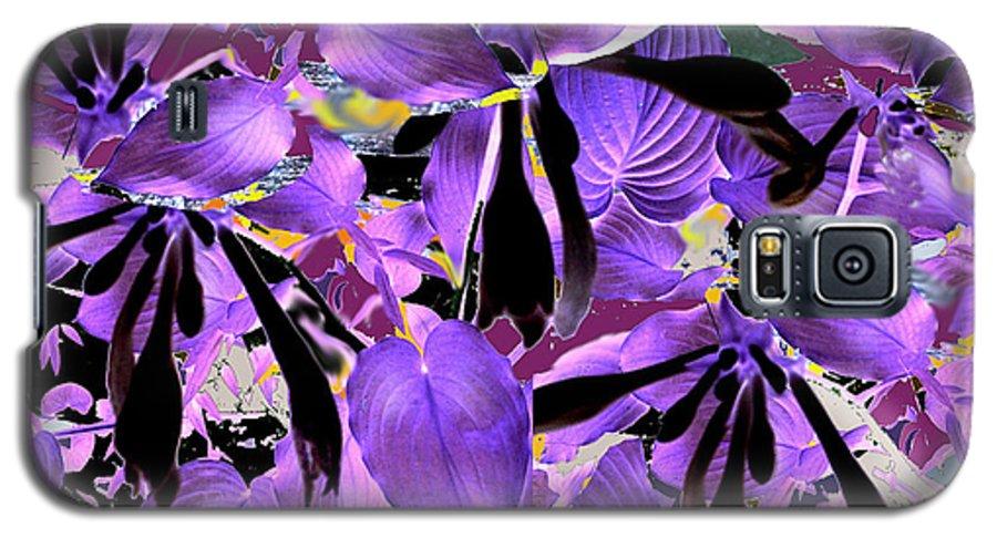 Beware The Midnight Garden Galaxy S5 Case featuring the digital art Beware The Midnight Garden by Seth Weaver