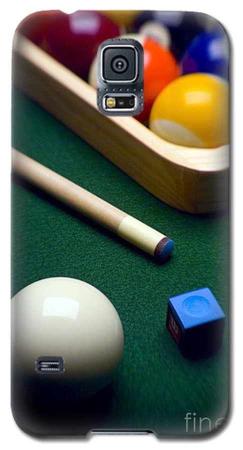 Billiard Galaxy S5 Case featuring the photograph Billiards by Tony Cordoza