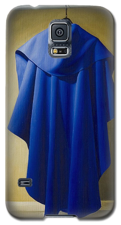 Realism Galaxy S5 Case featuring the painting Blue Cape by Gary Hernandez