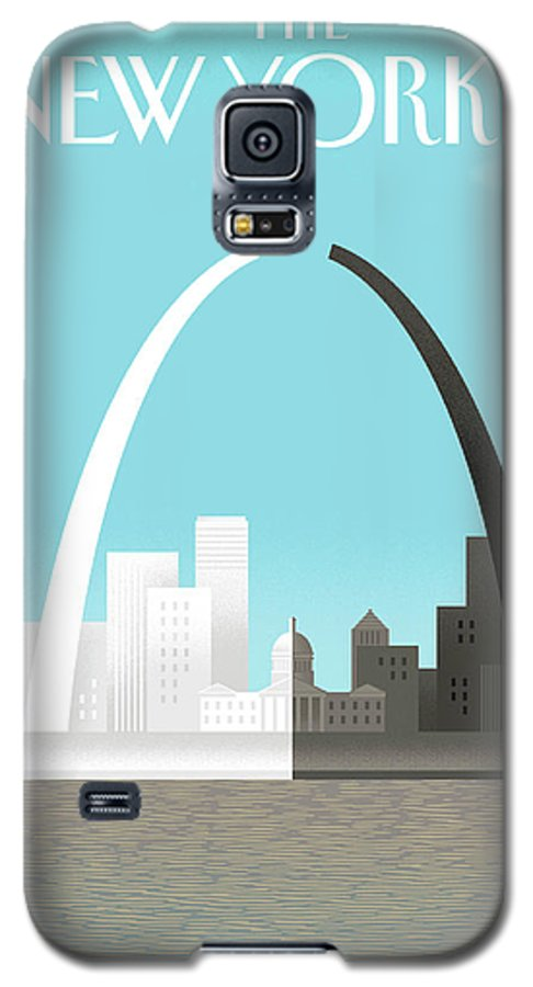 ae0128edd Broken Arch. A Scene From St. Louis Galaxy S5 Case for Sale by Bob Staake