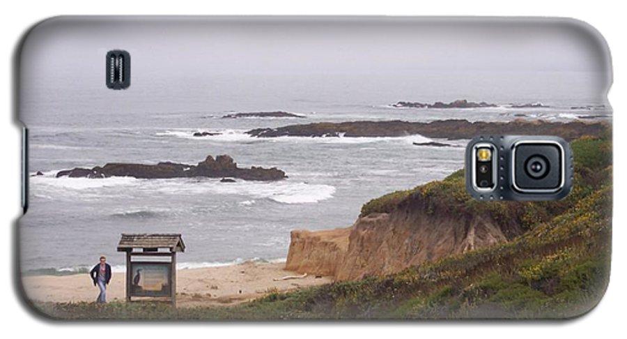 Coast Galaxy S5 Case featuring the photograph Coastal Scene 7 by Pharris Art