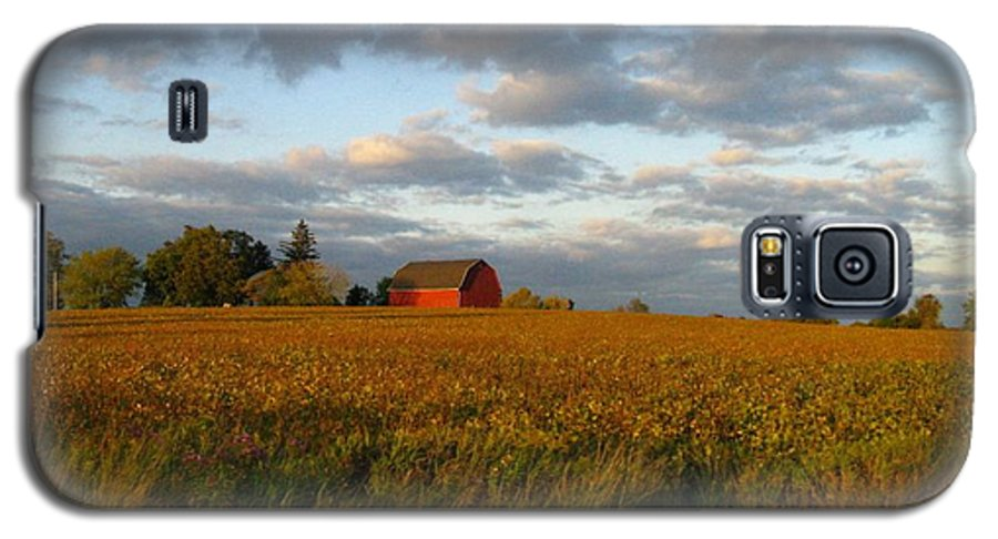 Landscape Galaxy S5 Case featuring the photograph Country Backroad by Rhonda Barrett