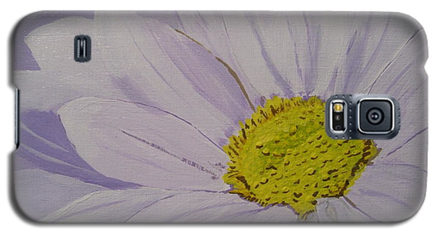 Daisy Galaxy S5 Case featuring the painting Daisy by Anthony Dunphy