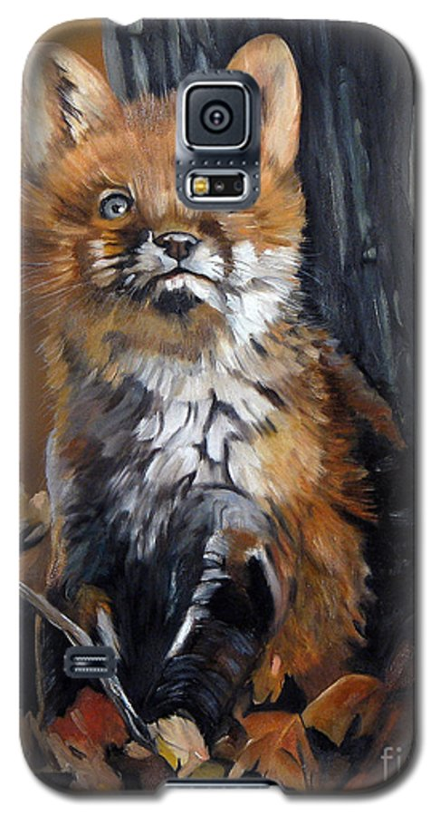 Southwest Art Galaxy S5 Case featuring the painting Dreamer by J W Baker