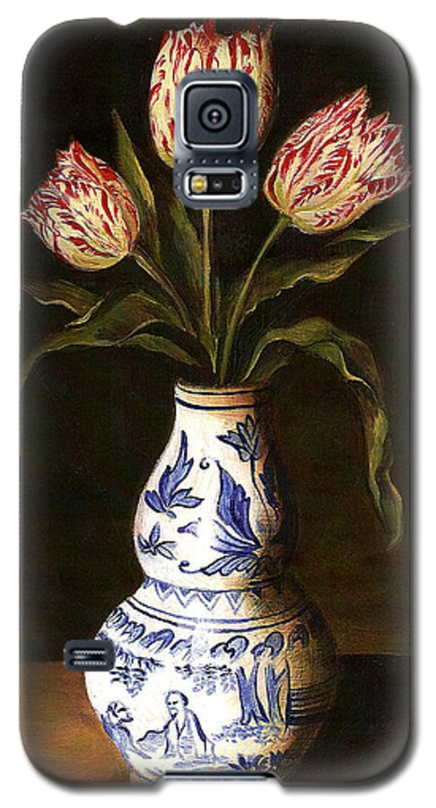 Dutch Still Life Galaxy S5 Case featuring the painting Dutch Still Life by Teresa Carter