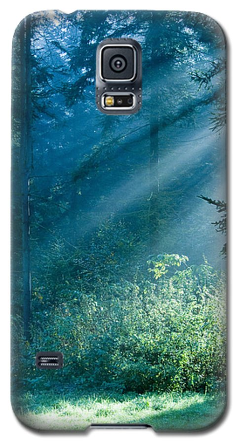 Nature Galaxy S5 Case featuring the photograph Elven Forest by Daniel Csoka