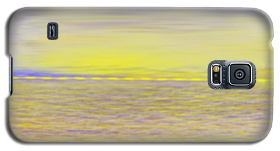 Sky.clouds.sun Reflection On Clouds.colr Clouds.sunset.sun.yellow.sea.waves.sun Reflection On Water. Galaxy S5 Case featuring the digital art End Of Day by Dr Loifer Vladimir