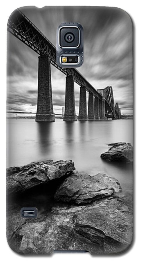Forth Bridge Galaxy S5 Case featuring the photograph Forth Bridge by Dave Bowman