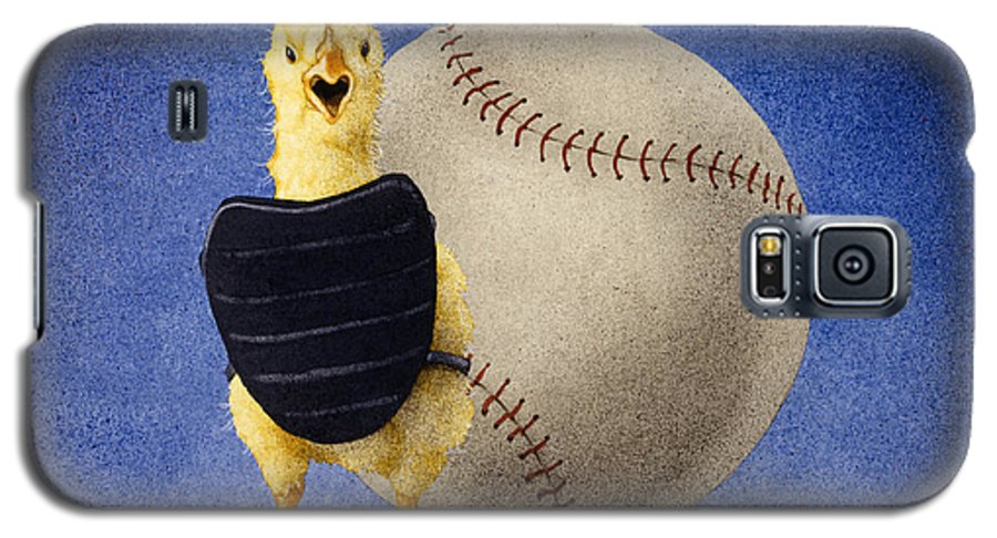 Will Bullas Galaxy S5 Case featuring the painting Fowl Ball... by Will Bullas