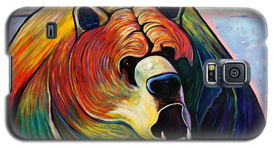 Wildlife Galaxy S5 Case featuring the painting He Who Greets With Fire by Joe Triano