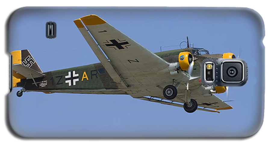 3scape Photos Galaxy S5 Case featuring the photograph Junkers Ju-52 by Adam Romanowicz