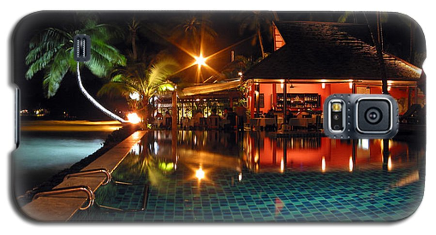 3scape Galaxy S5 Case featuring the photograph Koh Samui Beach Resort by Adam Romanowicz
