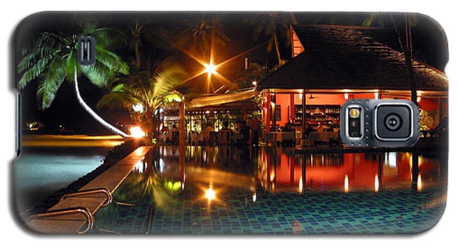3scape Photos Galaxy S5 Case featuring the photograph Koh Samui Beach Resort by Adam Romanowicz