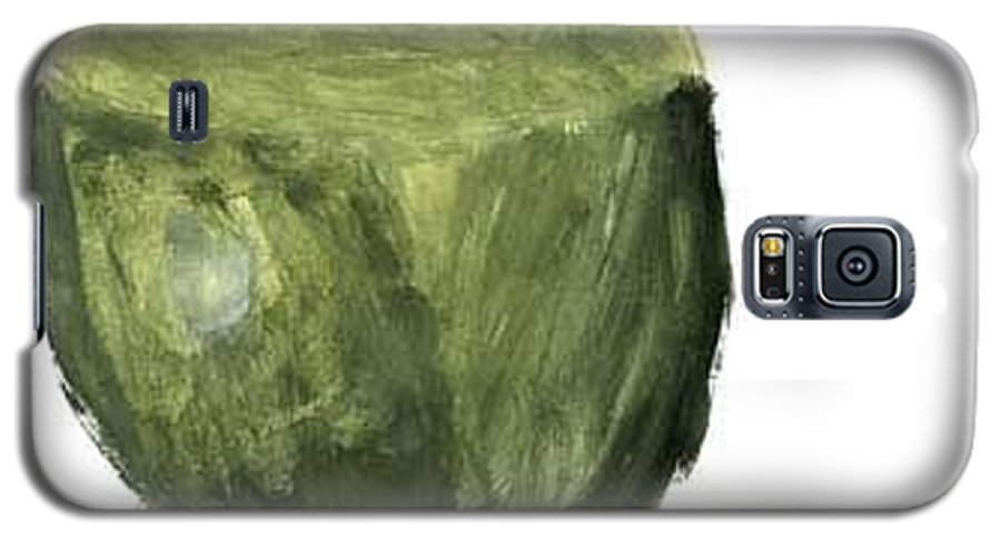Fruit Galaxy S5 Case featuring the painting Leafed Out by Annika Anderson