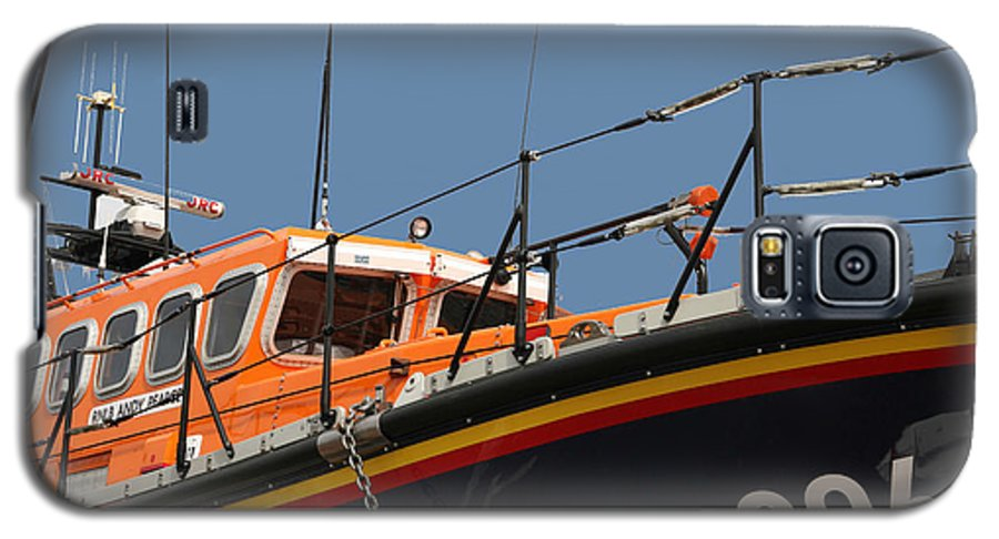 Life Galaxy S5 Case featuring the photograph Life Boat by Christopher Rowlands