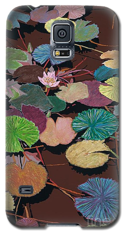 Landscape Galaxy S5 Case featuring the painting Muddy Waters by Allan P Friedlander