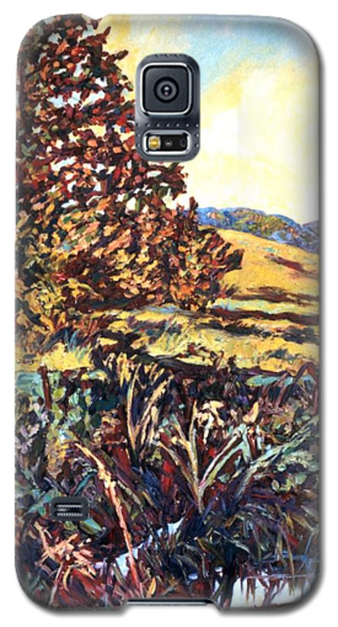 Landscape Galaxy S5 Case featuring the painting Near Childress by Kendall Kessler