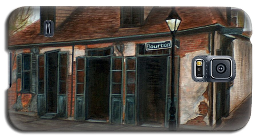 Realism Galaxy S5 Case featuring the painting New Orleans Familiar Site Before by M J Venrick