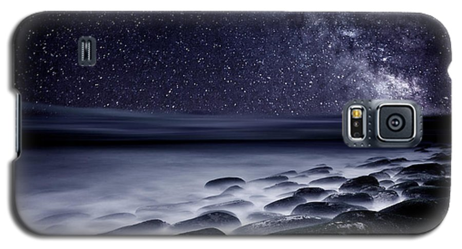 Rocks Galaxy S5 Case featuring the photograph Night Shadows by Jorge Maia