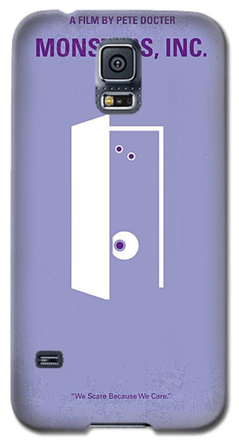 No161 My Monster Inc Minimal Movie Poster Galaxy S5 Case