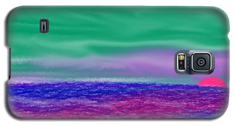 Morning Galaxy S5 Case featuring the digital art One Simple Morning by Dr Loifer Vladimir