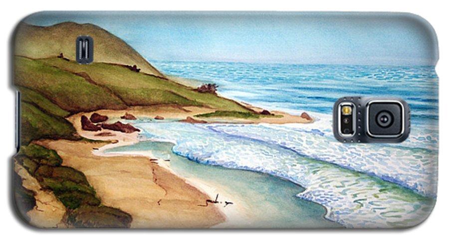 Rick Huotari Galaxy S5 Case featuring the painting Pacific by Rick Huotari