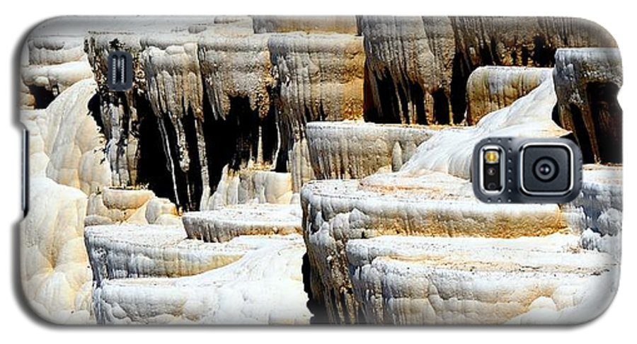 Pamukkale Galaxy S5 Case featuring the photograph Pamukkale Terraces by Apurva Madia