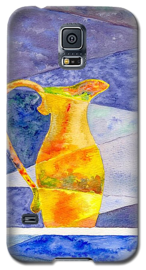 Still Life Galaxy S5 Case featuring the painting Pitcher 1 by Micah Guenther