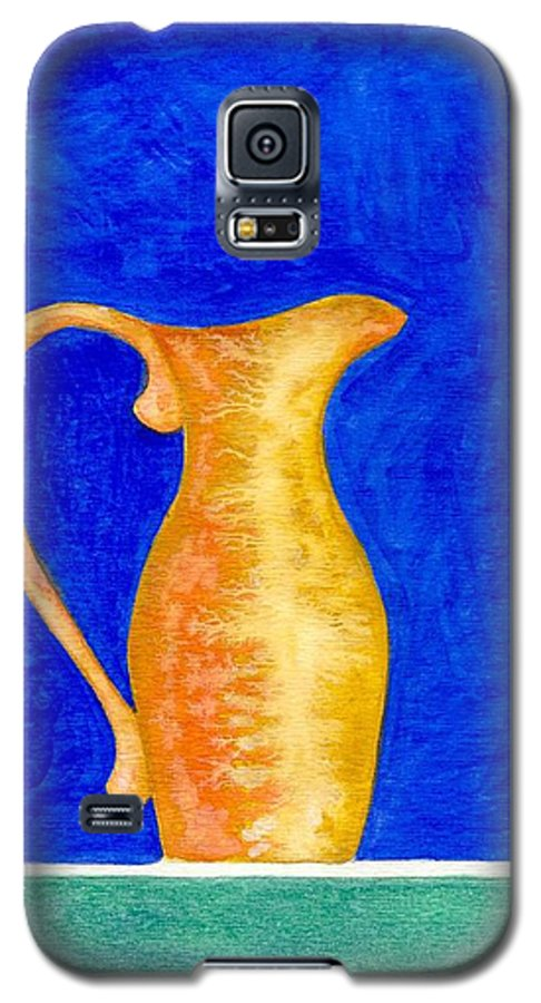 Still Life Galaxy S5 Case featuring the painting Pitcher 2 by Micah Guenther