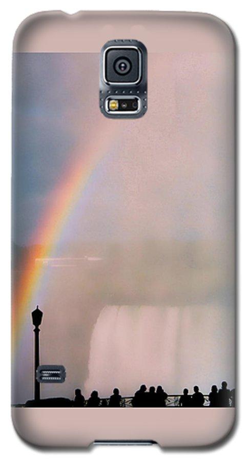 Rainbow Galaxy S5 Case featuring the photograph Rainbow Falls by Pharris Art