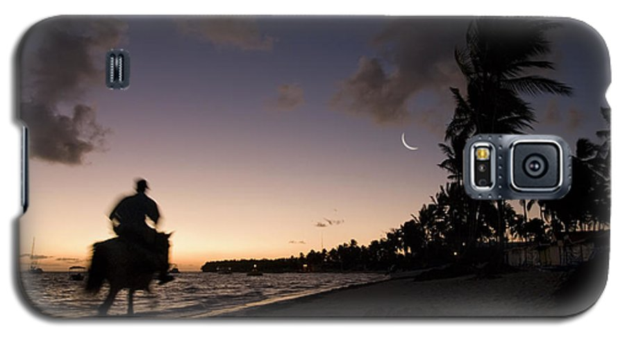 3scape Photos Galaxy S5 Case featuring the photograph Riding On The Beach by Adam Romanowicz