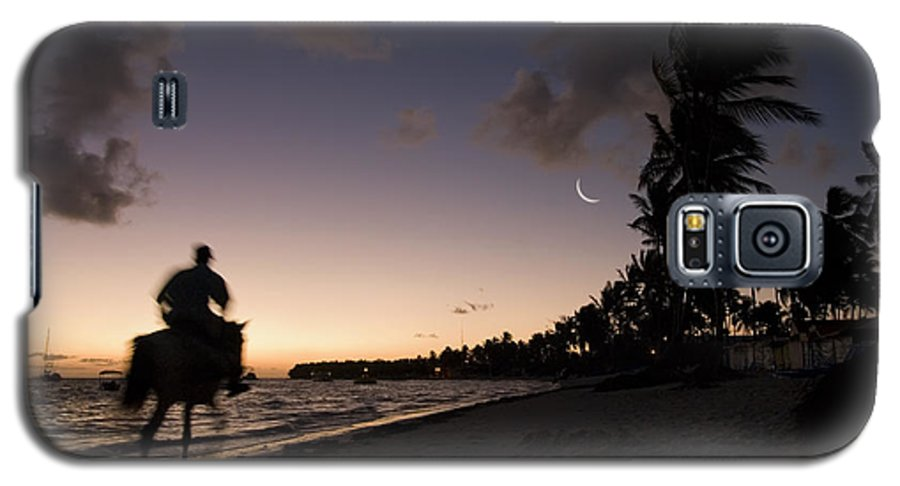 3scape Galaxy S5 Case featuring the photograph Riding On The Beach by Adam Romanowicz
