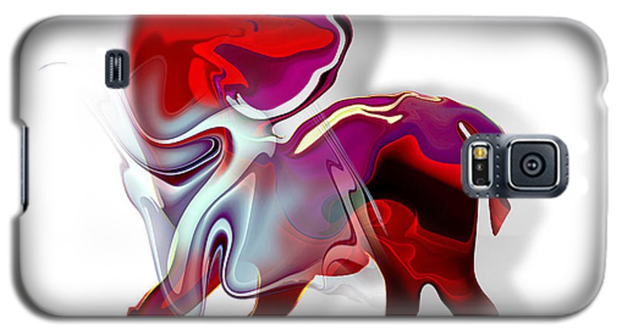 Astrology Galaxy S5 Case featuring the painting Sagittarius by Christian Simonian