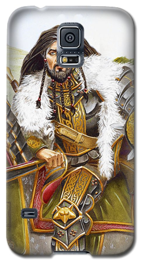 Fine Art Galaxy S5 Case featuring the painting Sir Marhaus by Melissa A Benson