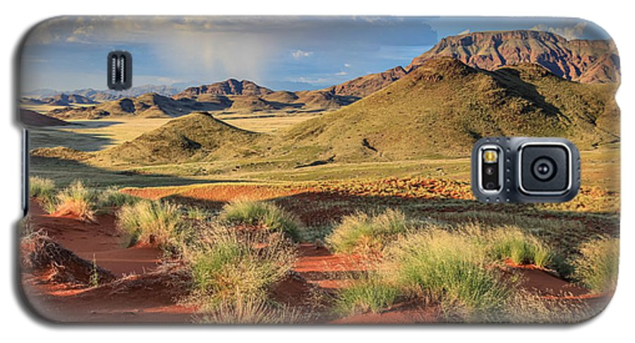 110325 Sossusvlei Vacation Galaxy S5 Case featuring the photograph Sossulvei Namibia Afternoon by Gregory Daley MPSA