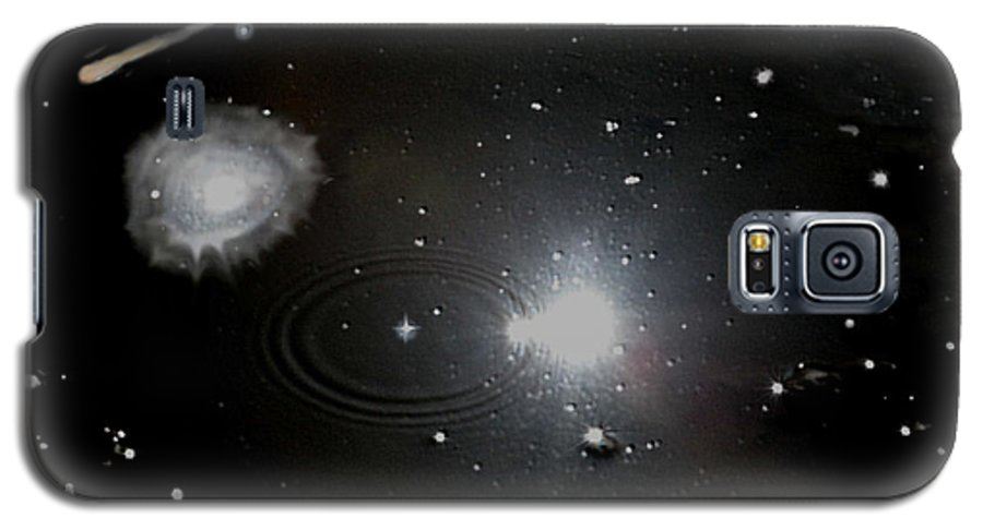 Space Galaxy S5 Case featuring the photograph Spacescape by Christopher Rowlands