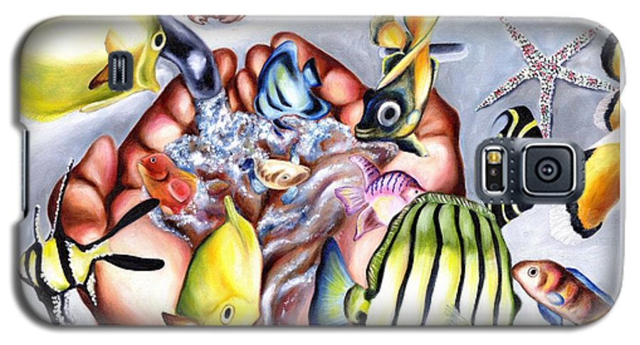Dream Galaxy S5 Case featuring the painting Still Drunk by Hiroko Sakai