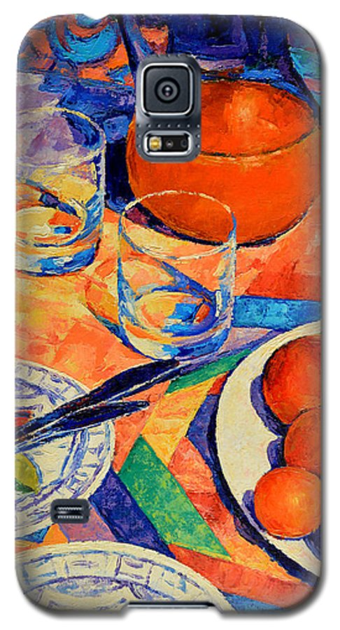 Still Life Galaxy S5 Case featuring the painting Still Life 1 by Iliyan Bozhanov