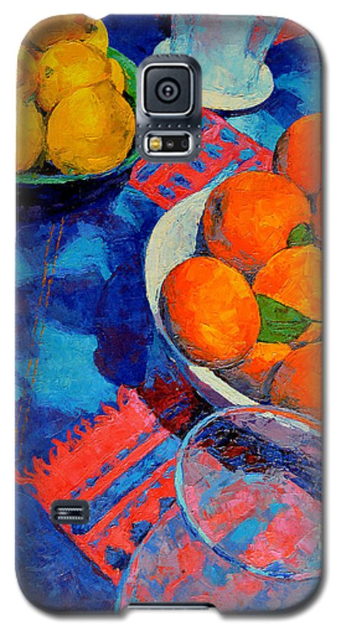 Still Life Galaxy S5 Case featuring the painting Still Life 2 by Iliyan Bozhanov