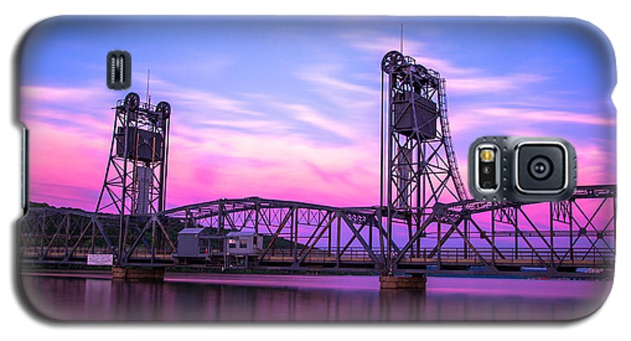 Landscape Galaxy S5 Case featuring the photograph Stillwater Lift Bridge by Adam Mateo Fierro