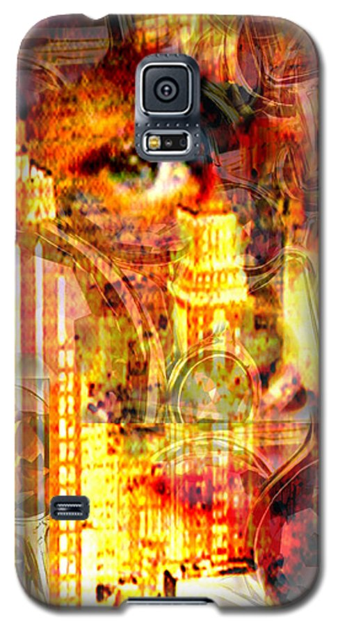 Big City Galaxy S5 Case featuring the photograph Streetwalker by Seth Weaver