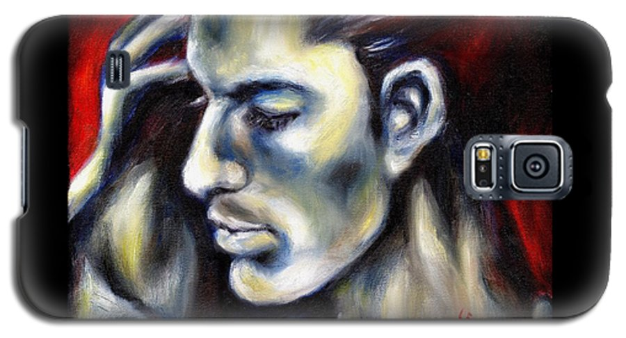 Man Galaxy S5 Case featuring the painting Sweetest Taboo by Hiroko Sakai