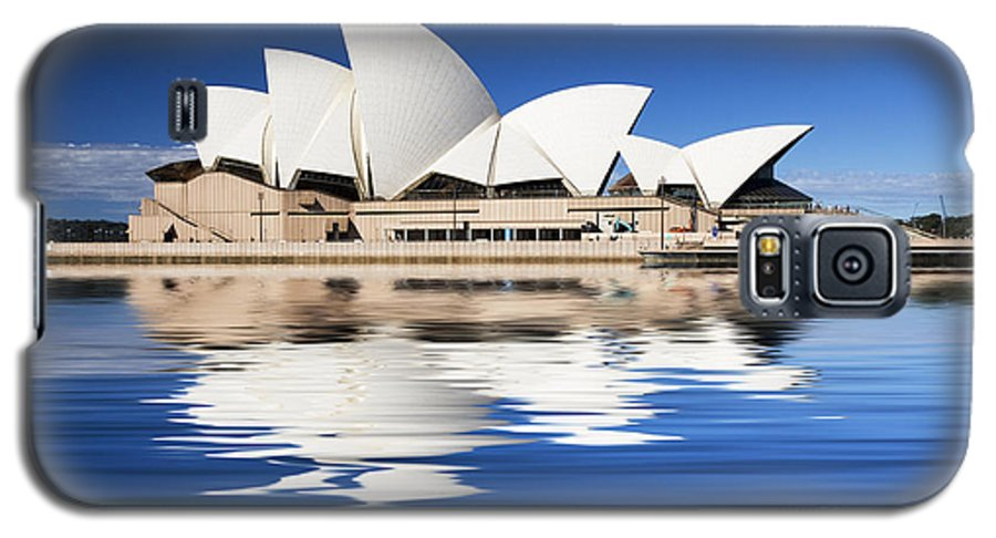 Sydney Opera House Galaxy S5 Case featuring the photograph Sydney Icon by Sheila Smart Fine Art Photography