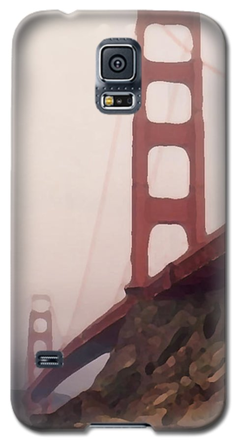Art Galaxy S5 Case featuring the photograph The Bridge by Piero Lucia