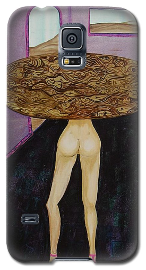 Jandrel Galaxy S5 Case featuring the painting The Enchanted Table by J Andrel