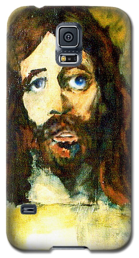 Jesus Christ Galaxy S5 Case featuring the painting The Galilean by Seth Weaver